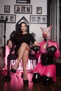 Mistress and Pig slave