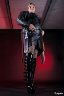 Mistress Lagertha in leather