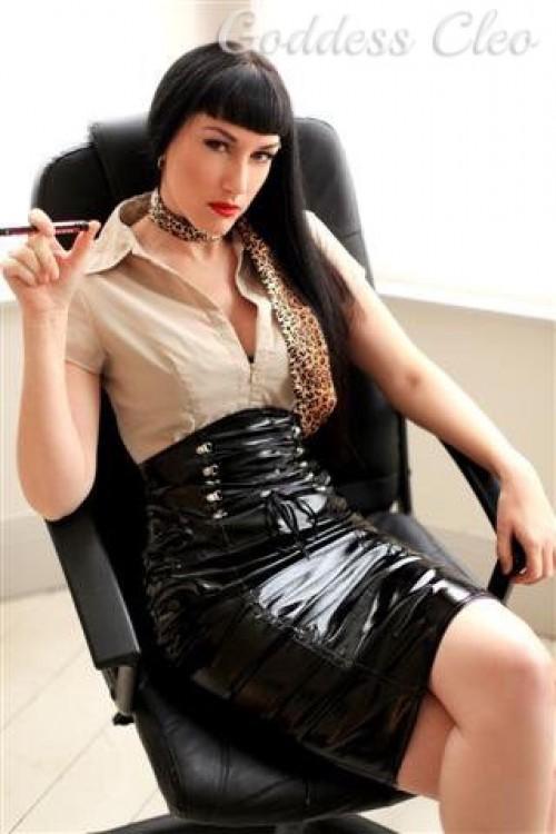 Boob drag dress heel make makeover ray skirt up wig